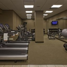 Wellness/fitness area Hyatt Lisle near Naperville