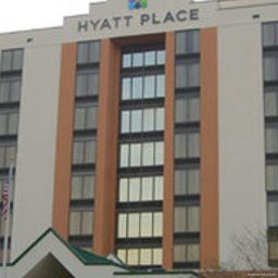 Vista exterior Hyatt Place Secaucus Meadowlands