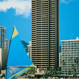 Exterior view Aston Waikiki Beach Tower