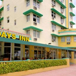 Vista esterna Days Inn and Suites Miami/North Beach Oceanfront