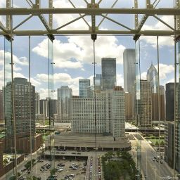 Vista esterna Embassy Suites Hotel Chicago-Downtow