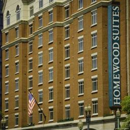 Exterior view Homewood Suites Washington-Downtown