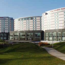 Exterior view Crowne Plaza BRUSSELS AIRPORT