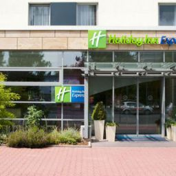 Außenansicht Holiday Inn Express FRANKFURT - MESSE