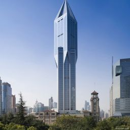 Фасад Shanghai - Marriott Executive Apartments Tomorrow Square