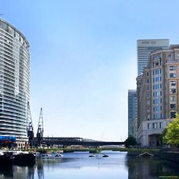Widok zewnętrzny London Marriott Hotel West India Quay