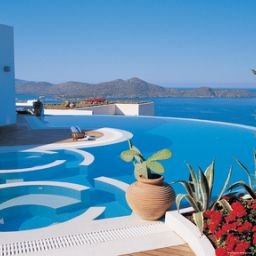 Exterior view Elounda Gulf Villas and Suites