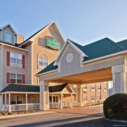 Фасад TN  Chattanooga I-24 West Country Inn & Suites By Carlson