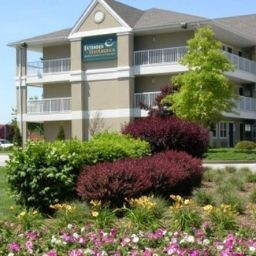 Фасад Extended Stay America - St Louis - Westport - East Lackland Rd