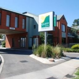 Vista exterior Quest Bendigo Serviced Apts