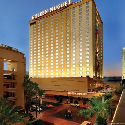 Exterior view Golden Nugget Hotel and Casino