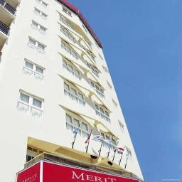 Exterior view Merit Mar Del Plata