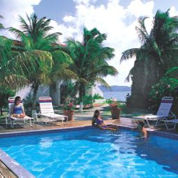 Piscine Fort Recovery Beachfront Villa Hotel & Resort