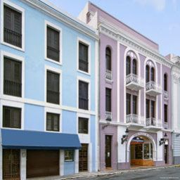 Фасад Howard Johnson Inn Plaza de Armas Old San Juan PR