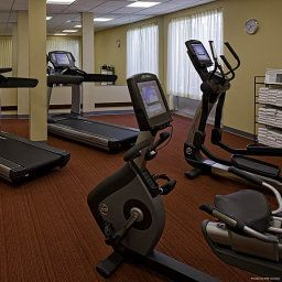 Sala spa/fitness Hyatt Place SLC Downtown Gateway