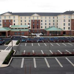 Vista exterior Homewood Suites Newtown PA