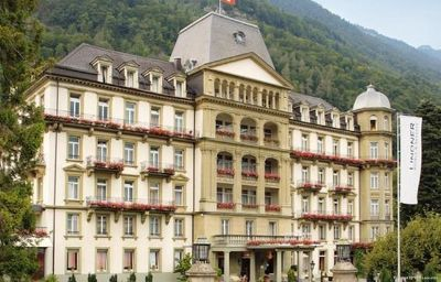 Vista esterna Lindner Grand Hotel Beau Rivage Interlaken (Bern)