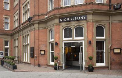 Widok zewnętrzny Hilton Nottingham