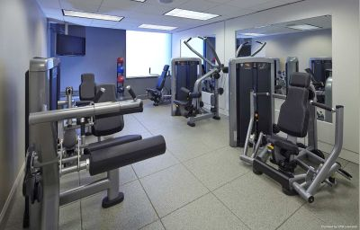 Wellness/fitness area Hilton North Raleigh Raleigh (North Carolina)
