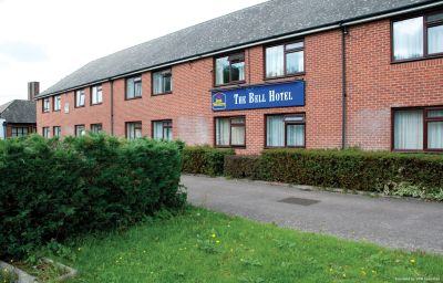 Exterior view Best Western Bell Epping (Epping Forest, England)