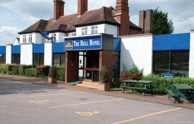 Vista exterior Best Western Bell Epping (Epping Forest, England)