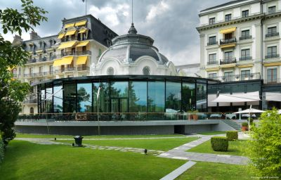 Exterior view Beau-Rivage Palace Lausanne (Vaud)