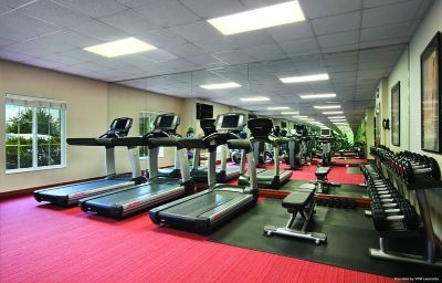 Wellness/fitness area HYATT house White Plains White Plains (New York)