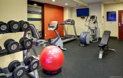 Wellness/fitness area Hampton Inn Johnson City Johnson City (Tennessee)