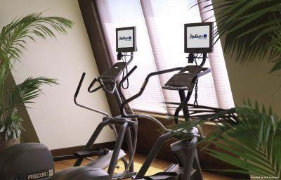 Wellness/fitness area Sharjah Radisson Blu Resort