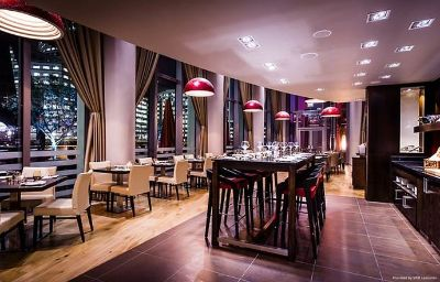 Restauracja London Marriott Hotel West India Quay London (England)