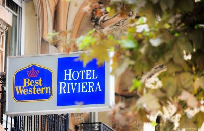 Фасад Best Western Hotel Riviera Nice (Provence-Alpes-Côte d'Azur)