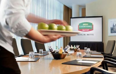 Sala konferencyjna Courtyard by Marriott Berlin Mitte Berlin