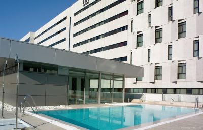 Piscine NH Collection Sevilla Seville (Andalusien)