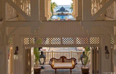 Hall de l'hôtel Heritage Le Telfair Golf & Spa Resort