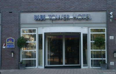 Фасад BEST WESTERN Blue Tower Hotel Amsterdam (North Holland)