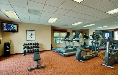 Wellness/fitness area Residence Inn Clearwater Downtown Clearwater (Florida)