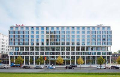 Außenansicht Scandic Berlin Potsdamer Platz