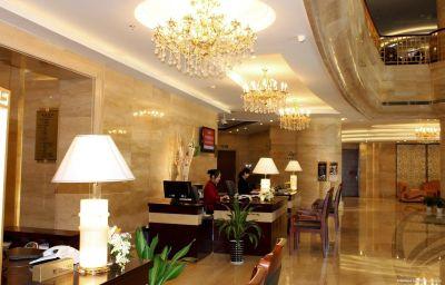 Vestíbulo del hotel Puxi New Century