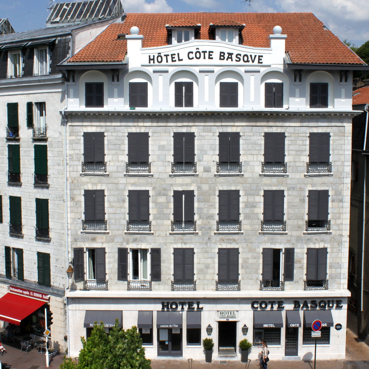 Hotel Cote Basque In Bayonne Aquitaine Hrs