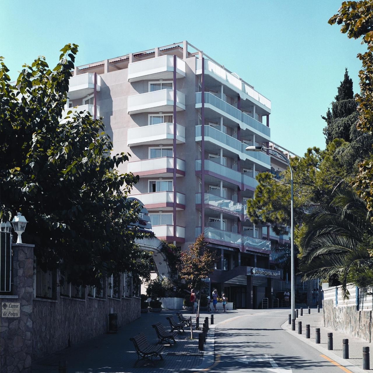 Hotel Guitart Gold Central Park Aqua Resort 4 4 Hrs Star Hotel In Lloret De Mar Catalonia