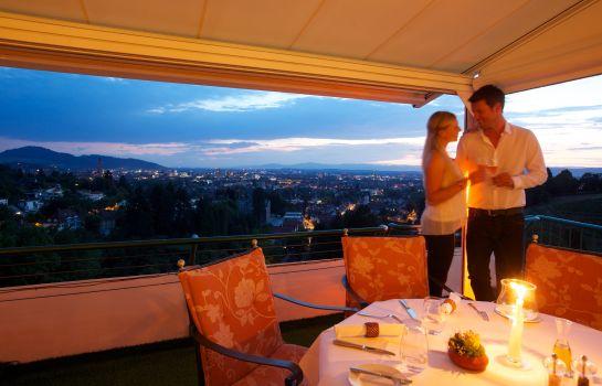 Mercure Hotel Panorama Freiburg-Freiburg im Breisgau-Terrasse
