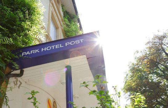 Park Hotel Post Am Colombipark-Freiburg im Breisgau-Hotel outdoor area