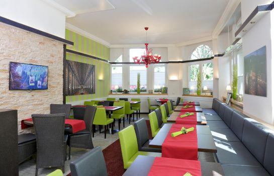 Park Hotel Post Am Colombipark-Freiburg im Breisgau-Restaurantbreakfast room