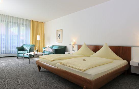 Hirschen-Glottertal - Glotterbad-Zimmer mit Bergblick