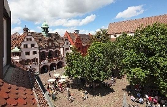 Am Rathaus-Freiburg im Breisgau-Hotel outdoor area