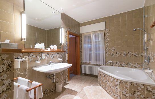 Ringhotel Zum Roten Baeren-Freiburg im Breisgau-Badezimmer