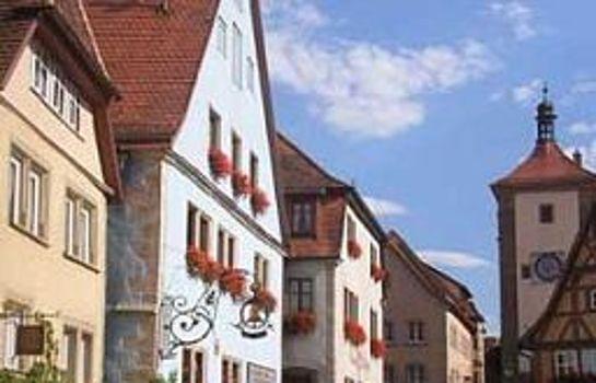 Rothenburg o.d. Tauber: Glocke Weingut und Hotel
