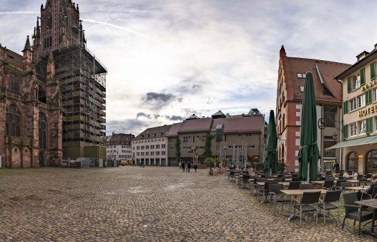Hotel Rappen Muensterplatz-Freiburg im Breisgau-View