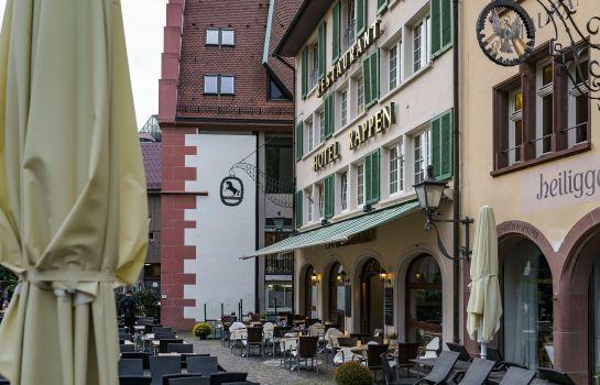 Hotel Rappen Muensterplatz-Freiburg im Breisgau-Terrace