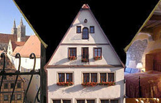 Rothenburg o.d. Tauber: Gotisches Haus Historik Hotel